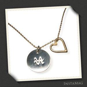 NASHELLE Lucky Mini Heart Necklace + Bonus Pendant